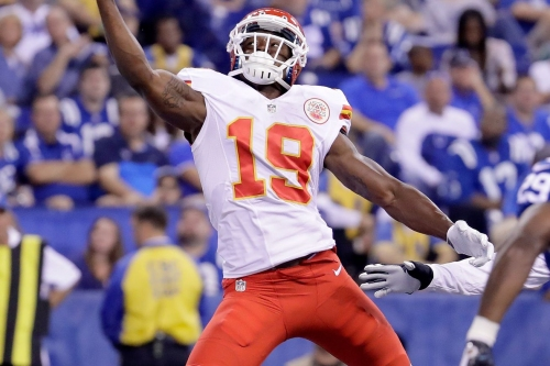Jeremy Maclin will wear No. 18 as a Baltimore Raven