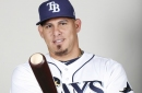Check out Wilson Ramos blast his 1st HR in the Rays organization