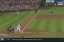 WATCH: Brewers' Shaw makes 'Brooks Robinson' play at third base