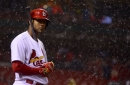 Two rain delays can't help Cardinals complete comeback in 7-6 loss to Brewers
