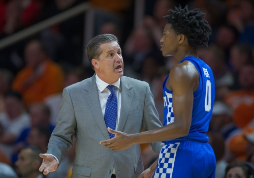 Kings target De'Aaron Fox, yet another player coached by John Calipari