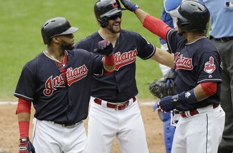 Chisenhall homers, drives in 5 as Indians rout Dodgers 12-5 (Jun 15, 2017)