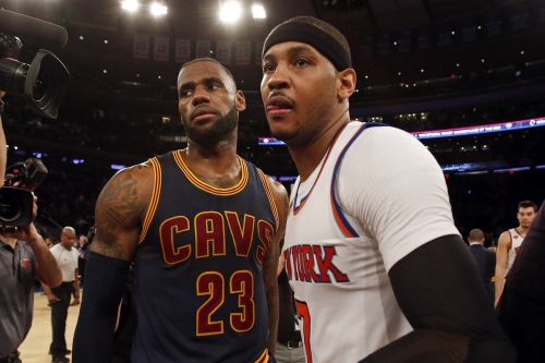 Knicks Links: The Cavaliers lost, so let the Carmelo Anthony rumors commence