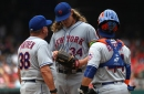 Mets say Syndergaard won't begin throwing for at least four weeks