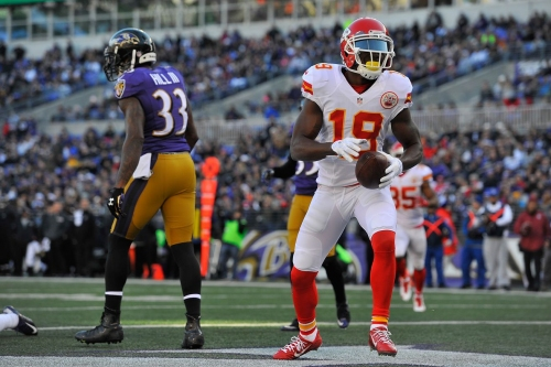 Kansas City Chiefs released WR Jeremy Maclin via voicemail