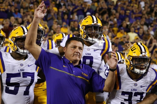 Paranoid, LSU? What to make of Tigers' border war with Longhorns, rest of college football