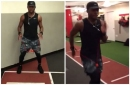 Daniel Sturridge shows his determination to be ready for Liverpool's pre-season in latest Instagram video