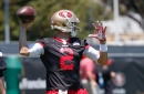 Brian Hoyer mic'd up at 49ers practice