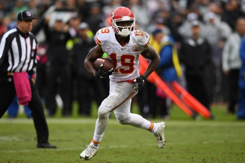 "Jeremy Maclin ""expected"" to be used in the slot"
