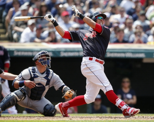 Cleveland Indians recall RHP Adam Plutko; put Michael Brantley on paternity list