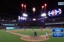 WATCH: Carlos Gomez crushes 3-run home run in 6th inning vs. Seattle