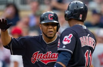 Indians' bats erupt in 8-1 series-opening win over Twins