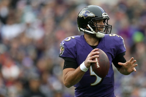 CBS sports writer takes a shot at Ravens QB Joe Flacco