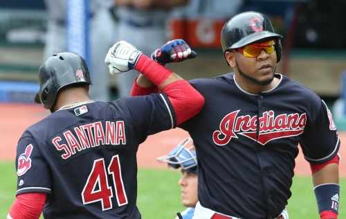Cleveland Indians have Terry Talkin' slumping Carlos Santana, rising Edwin Encarnacion -- Terry Pluto