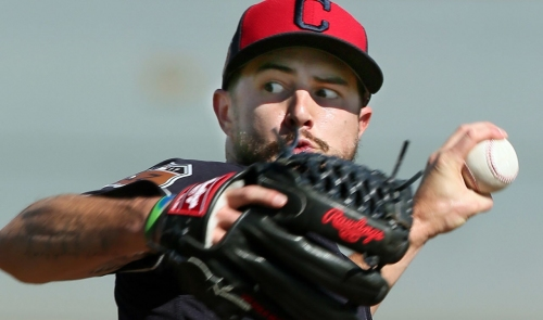 Cleveland Indians name Saturday's DH starters: Ryan Merritt, Game 1, Mike Clevinger, Game 2