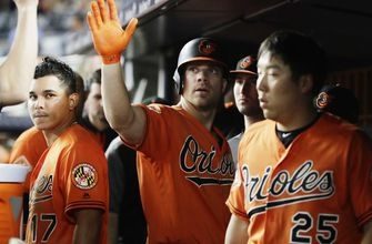 Orioles slugger Davis likely out until after All-Star break
