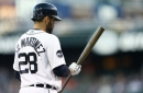 Tigers, Rays lineups: J.D. Martinez at DH, Mikie Mahtook in right field