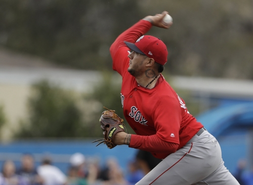 Hector Velazquez's neck tattoo is tribute to son & Boston Red Sox righty's journey to majors began as outfielder
