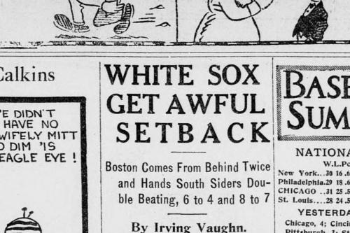 Sox Century: June 18, 1917