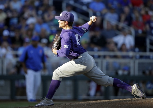 TCU to face Texas A&M in elimination game after 3-0 Florida shutout in College World Series