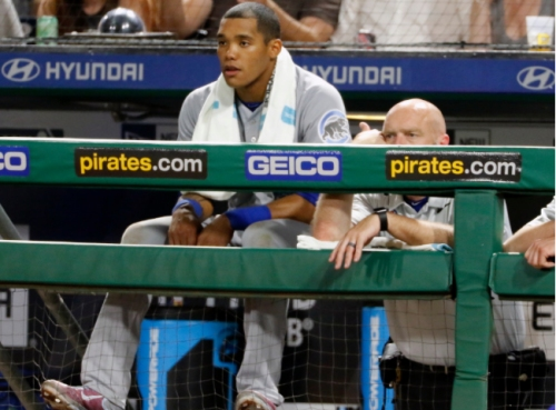 Turned ankle sidelines Addison Russell for Cubs-Pirates finale