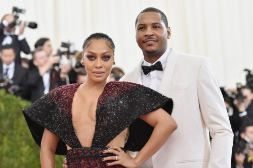 La La Anthony praises Carmelo as a 'great dad' on Father's Day