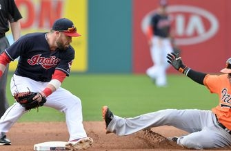 Indians go for sixth straight win as they begin series with Orioles