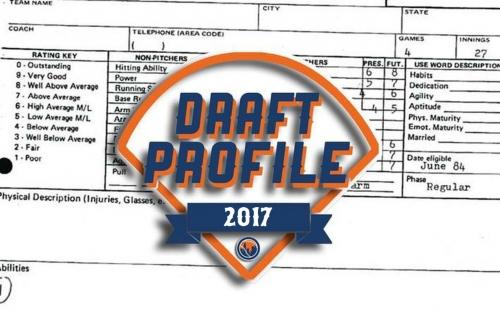 2017 Mets draft profile: Nathan Peden