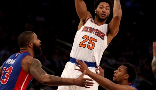 Derrick Rose Reportedly Wants A New York Knicks' Return