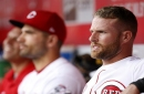 Zack Cozart and Bronson Arroyo placed on DL; Jesse Winker recalled from AAA