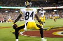 Antonio Brown gets chummy with Roger Goodell