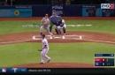 Scott Schebler's 19th home run was hit to the stars