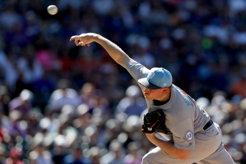 Mark Melancon's elbow is sore, so why is he pitching?