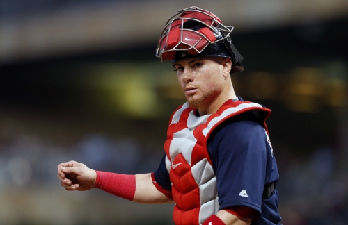 John Farrell, Boston Red Sox manager, explains decision to put Christian Vazquez at third base in 8th