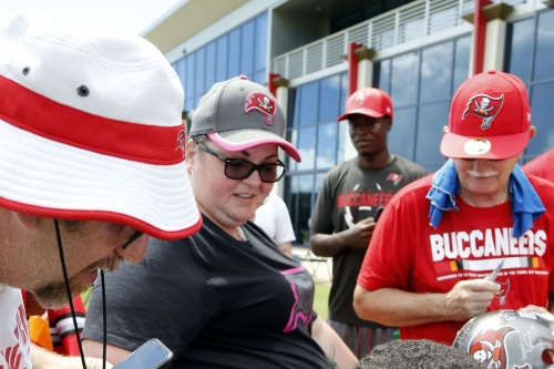 Buccaneers announce 13 open practices for training camp