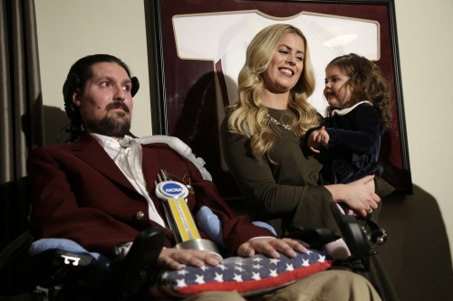 Pete Frates invites Ari Schultz, 5-year-old heart transplant patient, to Red Sox game