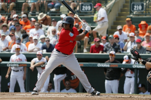 Rafael Devers triples and homers in Double-A Portland win; Red Sox prospects now has 14 homers (video)