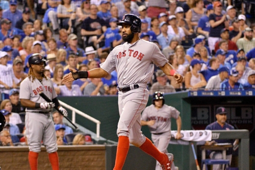 Red Sox 8, Royals 3: Runs for Sale; First place for Sox