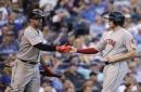 Deven Marrero's Boston Red Sox return included private flight, robbing best friend Eric Hosmer, 2 hits, RBI