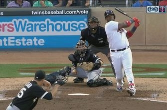 WATCH: Twins' Vargas crushes 483-foot home run
