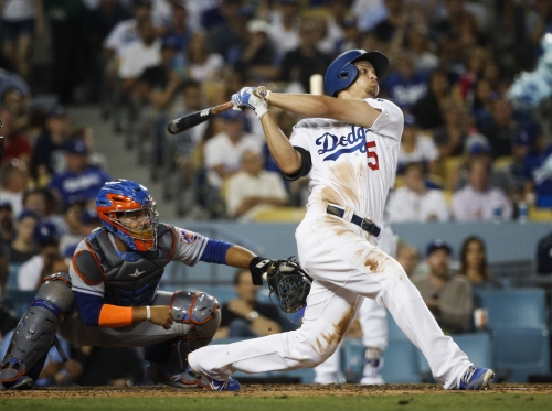 Corey Seager homers three times as Dodgers rout Mets, 12-0