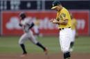 Springer keys big 1st inning that leads Astros past A's 8-4 (Jun 20, 2017)