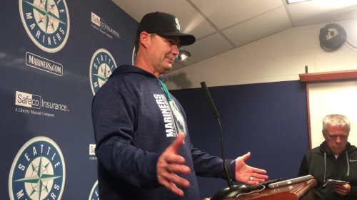 Mariners manager Scott Servais: 'Good things happen when you have good at-bats late'
