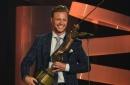 David Pastrnak won Czech Hockey Player of the Year!