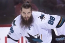 Brent Burns says kids confused him for a pirate at Disney World