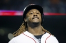John Farrell: Hanley Ramirez not in Boston Red Sox lineup because 'looking like' shoulders are bothering him