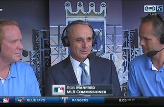 MLB commish Rob Manfred on Royals legend Buck O'Neil