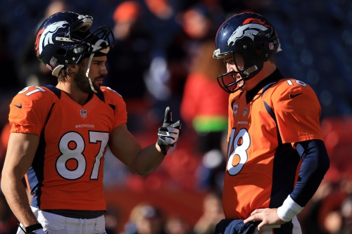 Eric Decker credits Peyton Manning for success in the NFL