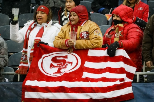 Study ranks 49ers fans No. 10 in NFL, ahead of Seahawks fans