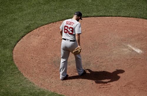 John Farrell, Boston Red Sox manager, explains avoiding Craig Kimbrel & going with Robby Scott vs. Salvador Perez